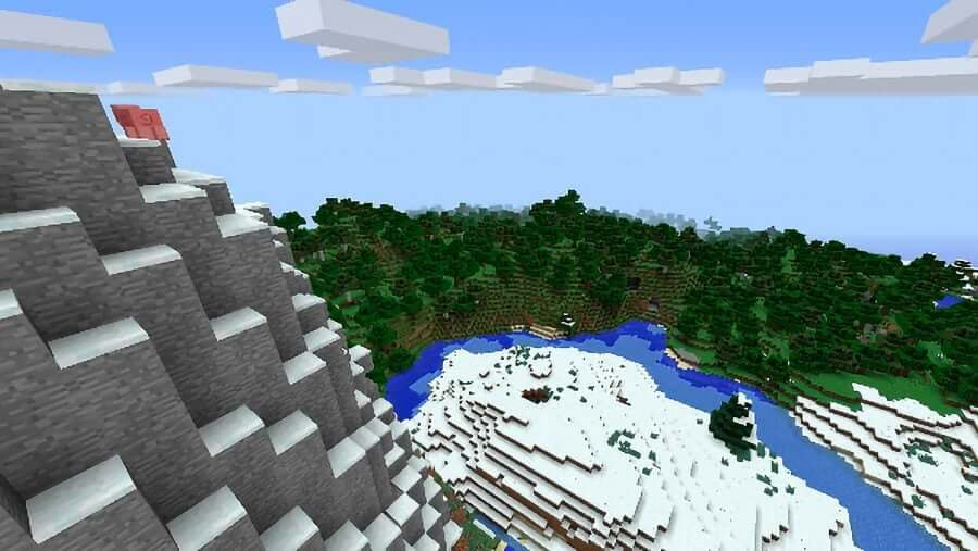 minecraft seed all biomes