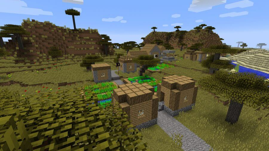 minecraft seeds blacksmith spawn