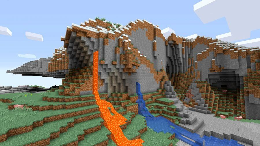 minecraft seeds breakleg island