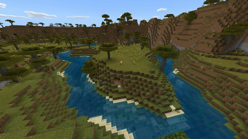 minecraft seed different biomes
