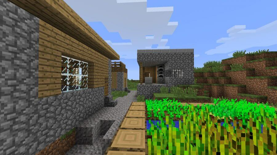 minecraft seed simple village