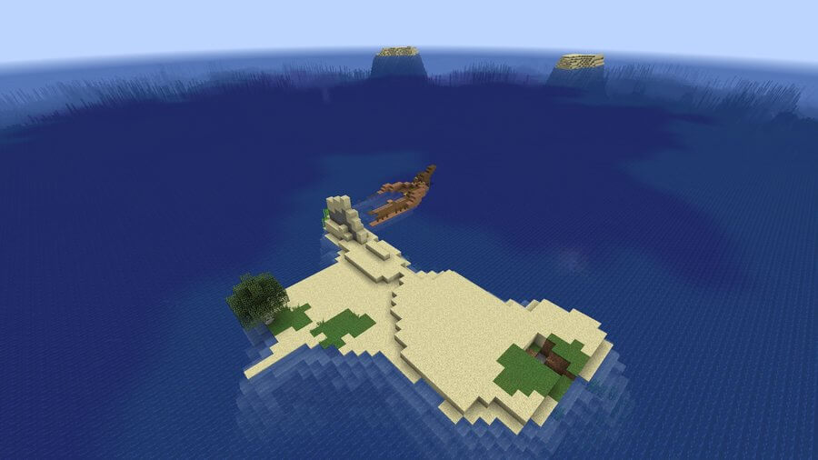 minecraft seed survival island