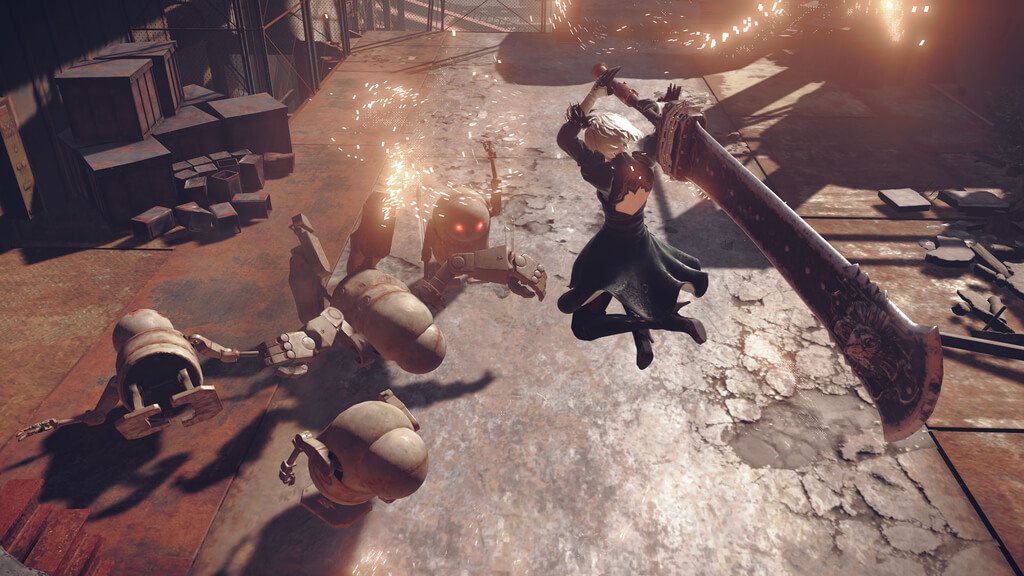 NieR Automata: List of weapons, locations, and where to find them