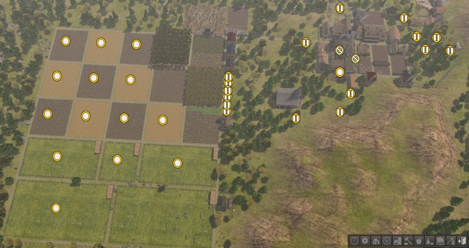 Banished fix field placement Mod