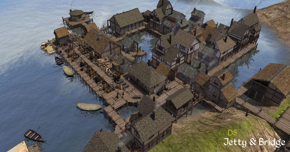 Banished Jetty And Bridges Mod