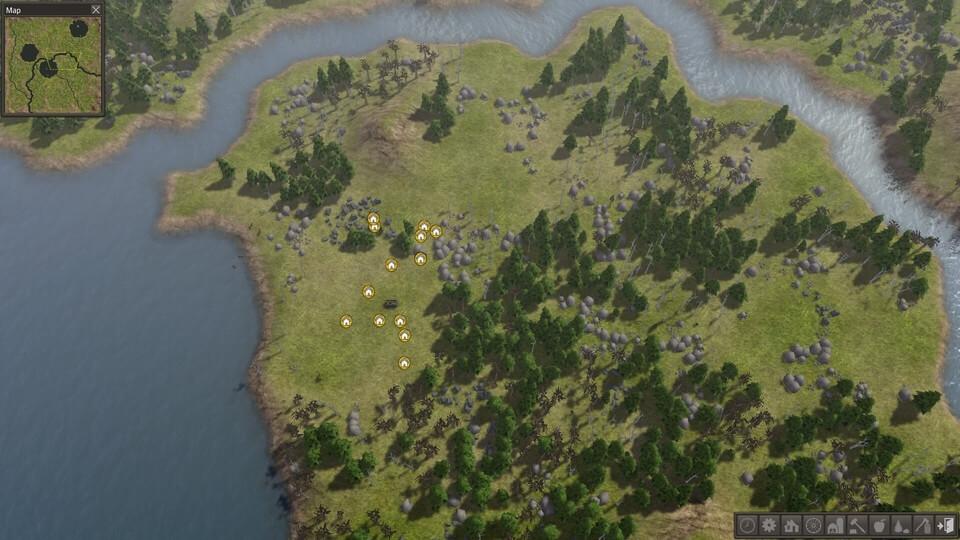 Banished More Terrain Mod