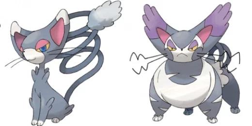 Pokémon Glameow / Purugly