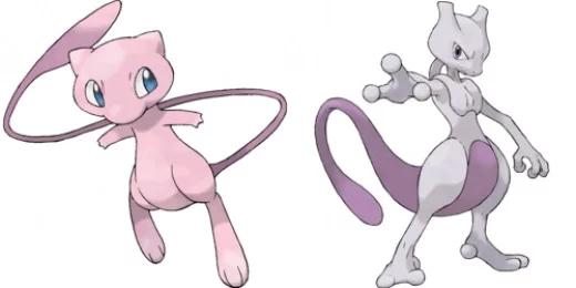 Pokémon Mewtwo / Mew