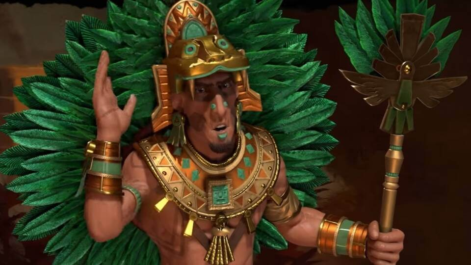 Montezuma I of Aztecs