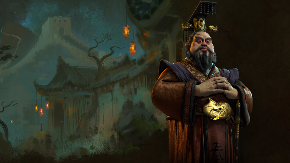 Qin Shi Huang of China
