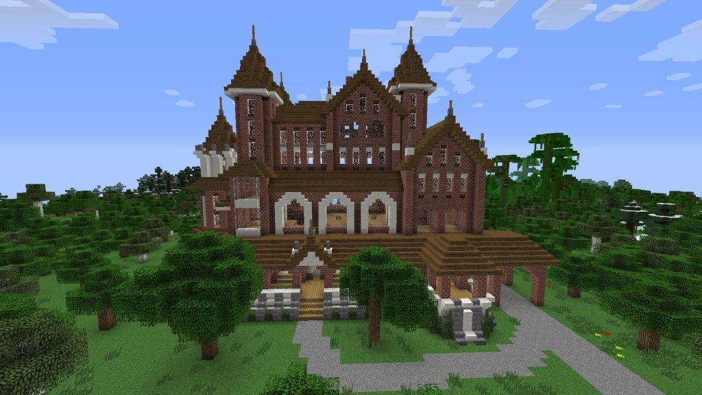 Grand Victorian minecraft castles