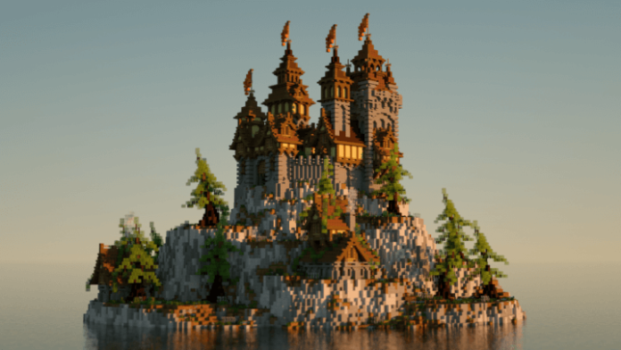 Minecraft castle ideas blueprints