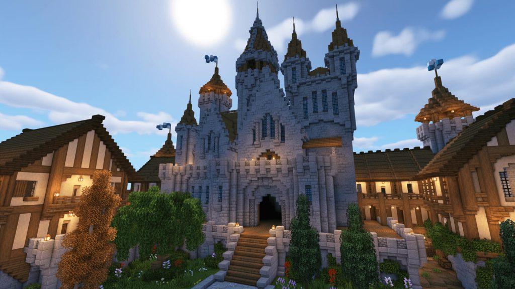 Minecraft medieval castles
