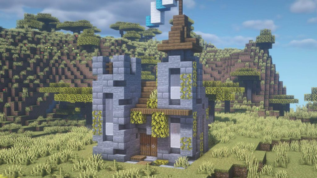 Minecraft mini castles