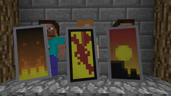Minecraft Banner Shields