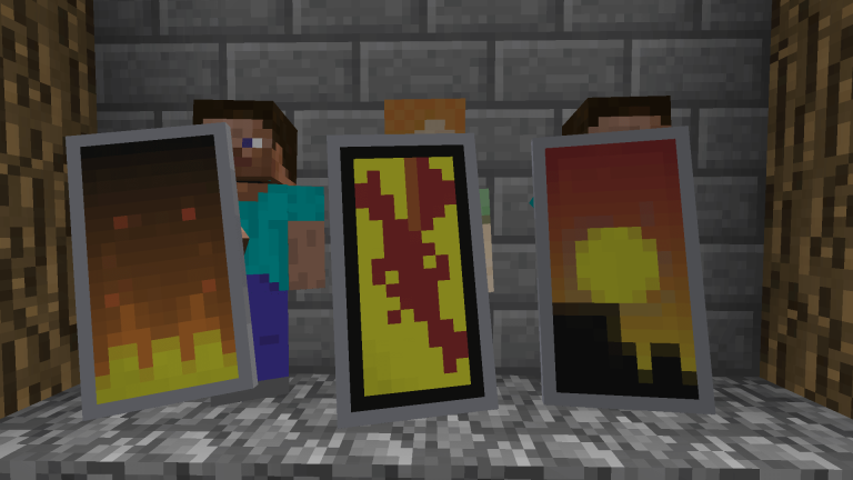 How to craft, obtain and use banners to customize Minecraft Shields