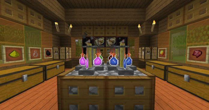 Minecraft Potions Lab