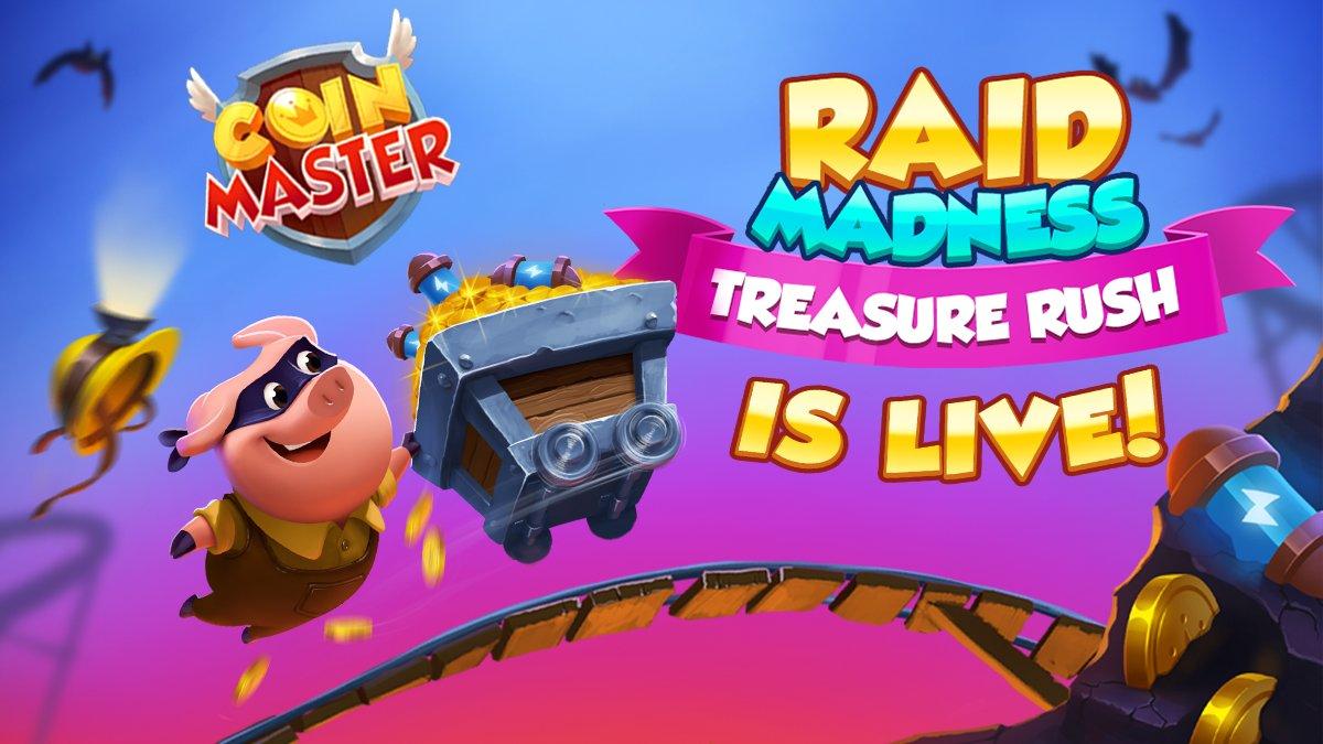 Coin Master Raid Madness Event